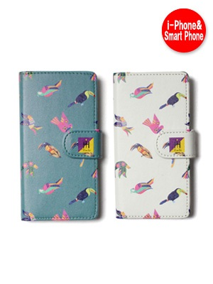 Tome2H(トミトエイチ)/ MEXICAN BIRD PHONE CASE -Lady's-