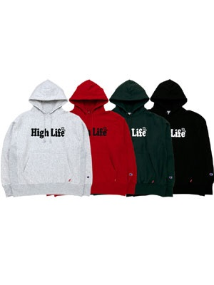 High Life(ハイライフ)/ LOGO REVERSE-WEAVE PULLOVER
