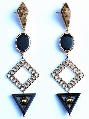 BOW(ボウ)/ BLACK GOLD PIERCE -Lady's-
