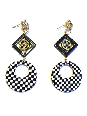 BOW(ボウ)/ ROUND SQUARE PIERCE -Lady's-