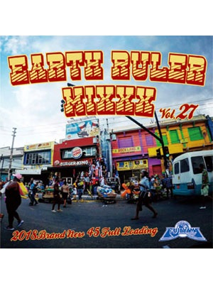【CD】EARTH RULER MIXXX vol.27 -mixed by ACURA from FUJIYAMA-