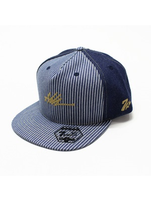 7UNION(セブンユニオン)/ ASH LOGO DENIM CAP