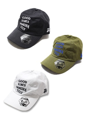 7UNION(セブンユニオン)/ GOOD VIBES 4PANEL CAP