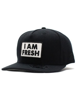 7UNION(セブンユニオン)/ HOLLA I AM FRESH CAP -BLACK-
