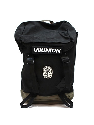 7UNION(セブンユニオン)/ 7U HIKING BAG -BLACK×OLIVE-