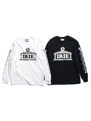 IRIE by irielife(アイリーバイアイリーライフ)/ IRIE PALACE L/S TEE -2.COLOR-