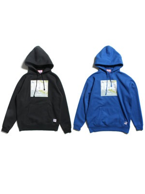IRIE by irielife(アイリーバイアイリーライフ)/ KINGSTON MAP LOGO HOODIE