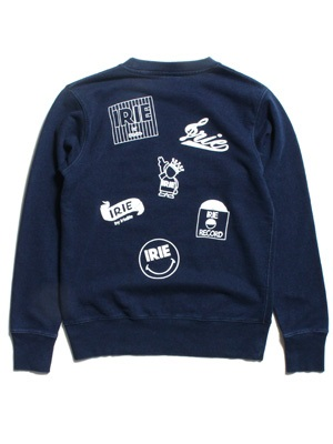 IRIE by irielife(アイリーバイアイリーライフ)/ IRIE MULTI LOGO GIRL CREW