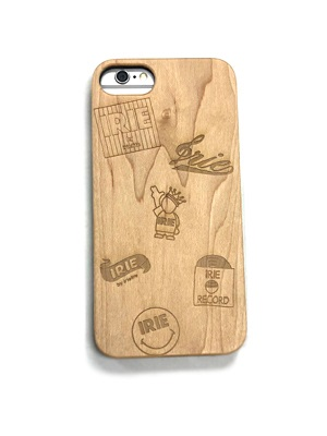 IRIE by irielife(アイリーバイアイリーライフ)/ IRIE MULTI LOGO WOOD iPhone CASE