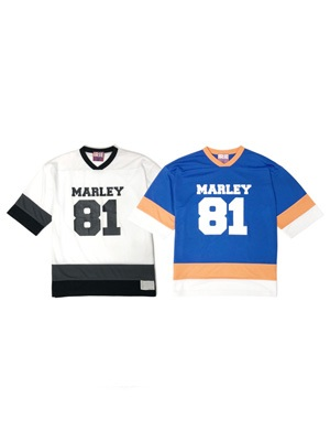 IRIE by irielife(アイリーバイアイリーライフ)/ MARLEY81 HOCKEY TEE -2.COLOR-