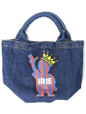 IRIE by irielife(アイリーバイアイリーライフ)/ IRIE POW KING DENIM MINI TOTE BAG -IRIE for GIRL- -Lady's-