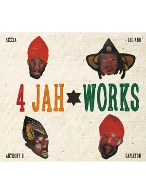 【CD】4 JAH WORKS DUB PLATE COLLECTION -OGA fr. JAHWORKS-