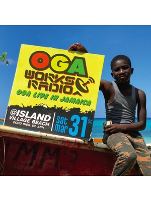 【CD】OGA WORKS RADIO MIX VOL.8 -OGA LIVE IN JAMAICA- -MIXED BY OGA JAH WORKS-
