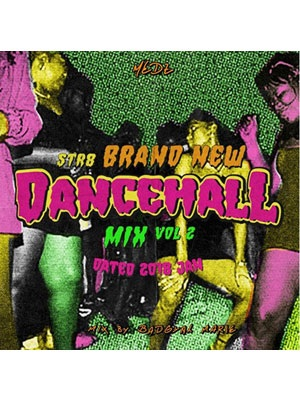 【CD】STR8 BRAND NEW DANCEHALL MIX Vol.2 -Dated JAN 2018- -mixed by BAD GYAL MARIE from MEDZ-