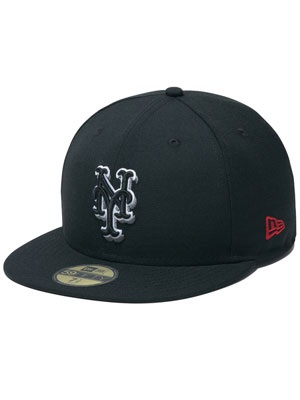 NINE RULAZ(ナインルーラーズ)/ NINE RULAZ LINE×NEWERA×NEW YORK METS 59 FIFTY CAP -BLACK-