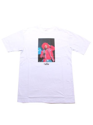 OutDeh(アウトデヤ)/ DAVID CORIO ENERGY T-SHIRT -WHITE-