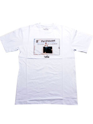 OutDeh(アウトデヤ)/ ×DAVID CORIO MOVIE STAR T-SHIRT -WHITE-
