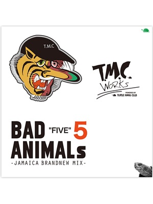 【CD】BAD ANIMALS 5 -JAMAICA BRAND NEW MIX- -T.M.C WORKS (TURTLE MAN's CLUB)-