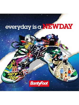 【CD】every day is a NEW DAY -BANTY FOOT-
