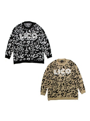 LICO by.Tome2H(リコ バイ トミトエイチ)/ LEOPARD KNIT -Lady's-