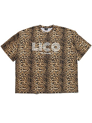 LICO by.Tome2H(リコ バイ トミトエイチ)/ LEOPARD BIG T-SHIRT -Lady's-