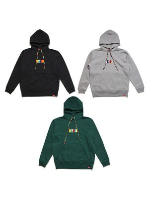 MURAL(ミューラル)/ COLORFUL BOX HOODY
