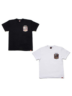 MURAL(ミューラル)/ COMICS POCKET T-SHIRT