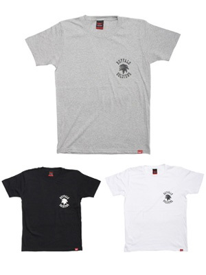 MURAL(ミューラル)/ ONE POINT BS T-SHIRT