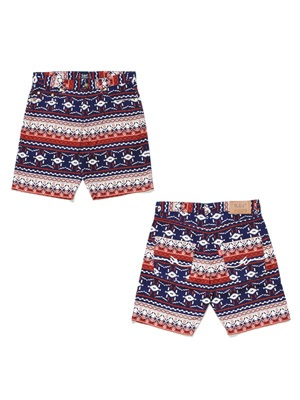 MURAL(ミューラル)/ PATTERN M FLOWING SHORTS -A(NATIVE)-