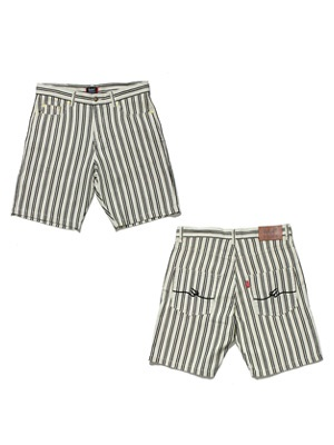 MURAL(ミューラル)/ PATTERN M FLOWING SHORTS -C(STRIPE)-
