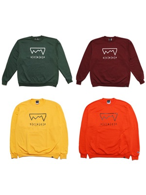 SCREP(スクレップ)/ GRAPPLE CREW SWEAT -COLOR-