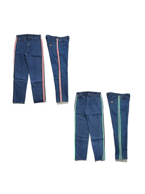 SCREP(スクレップ)/ LINE DENIM PANTS