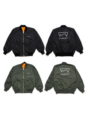 SCREP(スクレップ)/ LIGHT MA-1 JACKET