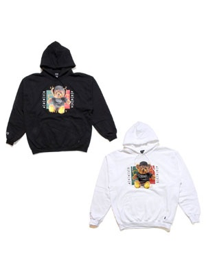 SCREP(スクレップ)/ BEAR WEB HOODY