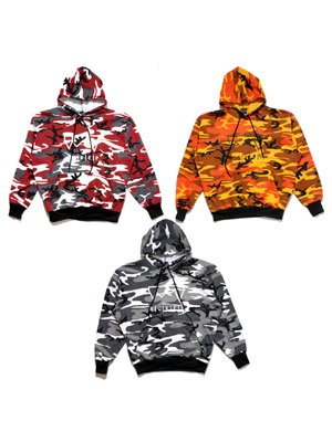 SCREP(スクレップ)/ GRAPPLE CAMO HOODY