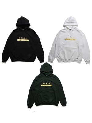 SCREP(スクレップ)/ GOLD LABEL HOODY