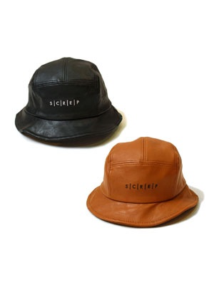 SCREP(スクレップ)/ PU LETHER HAT