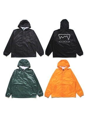 SCREP(スクレップ)/ HOODED COACH'S JACKET