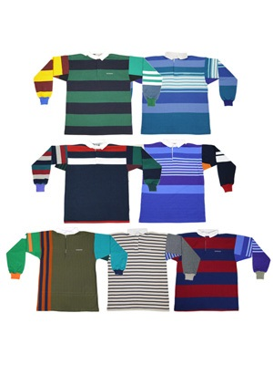 SCREP(スクレップ)/ MULTI RUGBY SHIRT -L size-