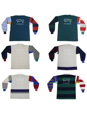 SCREP(スクレップ)/ MULTI RUGBY SHIRT -M size-