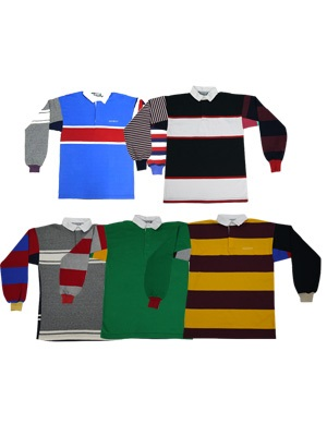 SCREP(スクレップ)/ MULTI RUGBY SHIRT -S size-