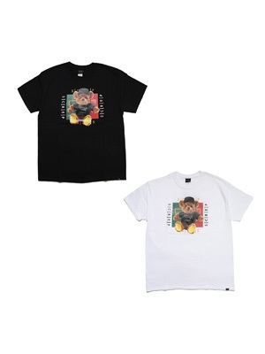 SCREP(スクレップ)/ BEAR WEB T-SHIRT