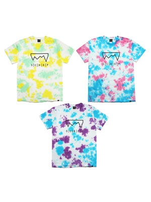 SCREP(スクレップ)/ GRAPPLE TIE-DYE T-SHIRT