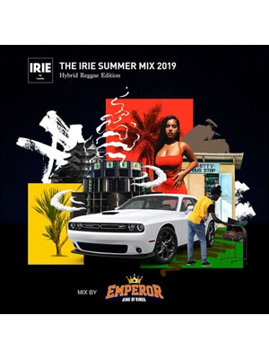 【CD】IRIE SUMMER MIX 2019 Hybrid Reggae Edition -EMPEROR-