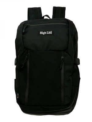 High Life(ハイライフ)/ BACKPACK -BLACK-