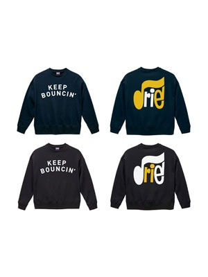 IRIE by irielife(アイリーバイアイリーライフ)/ KEEP BOUNCIN CREW SWEAT