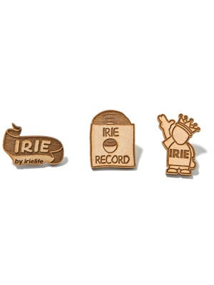 IRIE by irielife(アイリーバイアイリーライフ)/ × KIBACO WORKS IRIE WOOD PINS ver.2