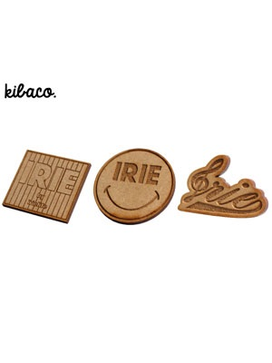 IRIE by irielife(アイリーバイアイリーライフ)/ × KIBACO WORKS IRIE WOOD PINS