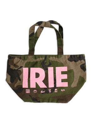 IRIE by irielife(アイリーバイアイリーライフ)/ IRIE MULTI LOGO CAMO TOTE BAG -CAMO- -Lady's-
