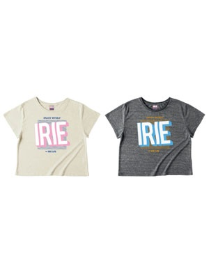 IRIE by irielife(アイリーバイアイリーライフ)/ ENJOY MYSELF GIRL TEE -Lady's-